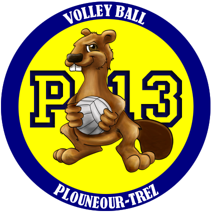 Volley club de Plounéour Brignogan Plages logo