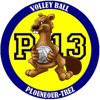 Volley club de Plounéour Brignogan Plages logo